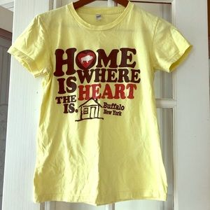 Home is where the ❤️ is Buffalo NY tee